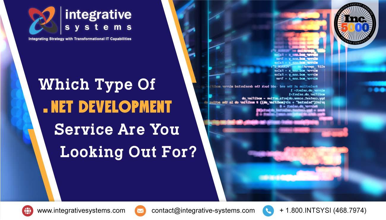 .Net Development Service