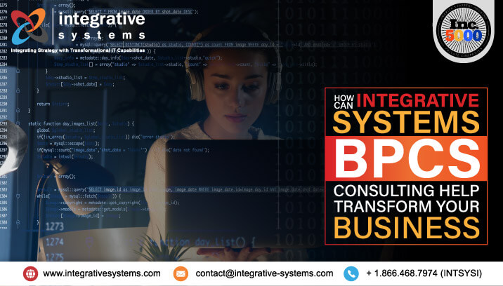 How can Integrative Systems BPCS Consulting help Transform your Business?